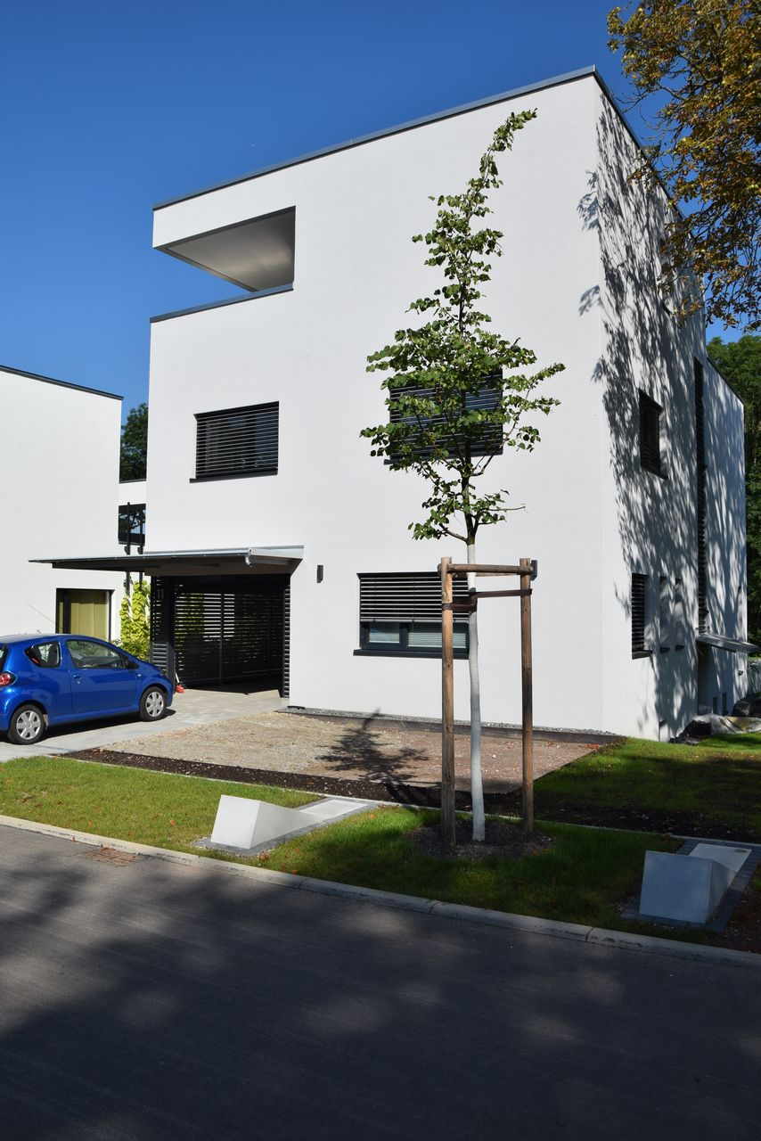 Haus Mit Dachterrasse Bauen bauen am schießhaus haus dachterrasse planungsgruppe fölsche